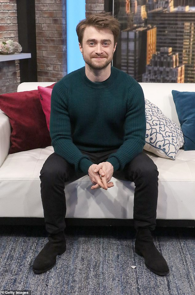 Well rounded: Daniel Radcliffe has revealed that people are surprised he turned out so well, despite being a child actor (pictured 2019)