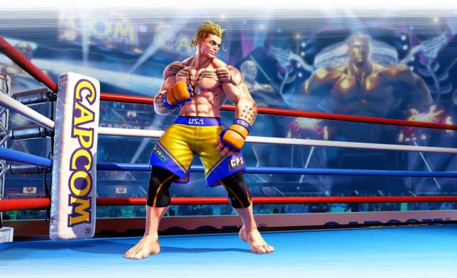 Street Fighter 5 DLC character Luke