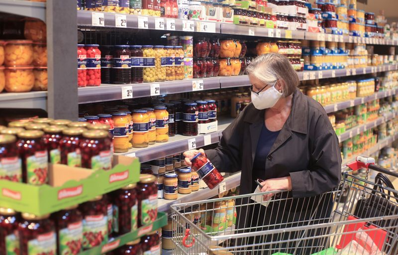 German retail sales jump for second month in a row