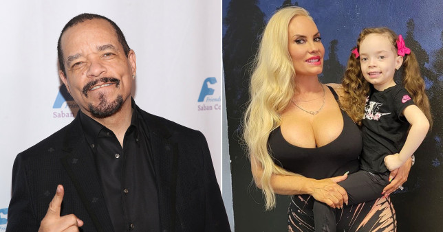 Ice-T and Coco with daughter Chanel