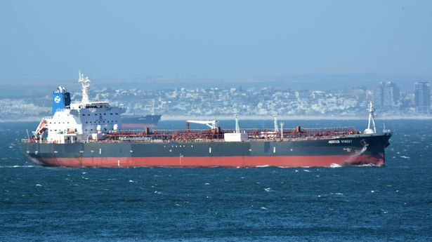 The Mercer Street, a Japanese-owned Liberian-flagged tanker managed by Israeli-owned Zodiac Maritime that was attacked off Oman coast (file photo)