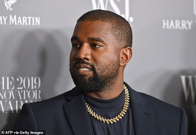 Finally:Kanye West, 44, finally released his new album Donda on streaming services on Sunday, more than a month late