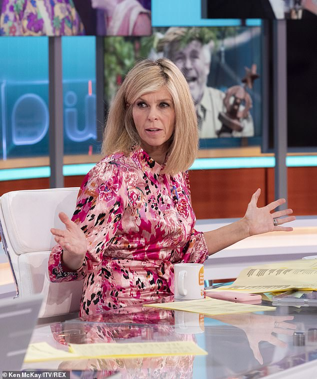 Oh no! On Monday, Kate Garraway, 54, warned 'there are MORE long Covid symptoms emerging' as she gave GMB viewers an update on her husband Derek Draper's road to recovery