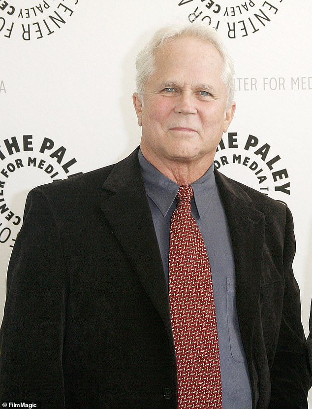 On the mend: Tony Dow, known for his starring role as Wally Cleaver on Leave It to Beaver from 1957 to 1963, has been hospital with pneumonia, according to TMZ; seen in 2010