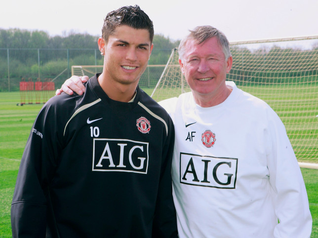 Manchester United legend Sir Alex Ferguson intervenes over Cristiano Ronaldo transfer