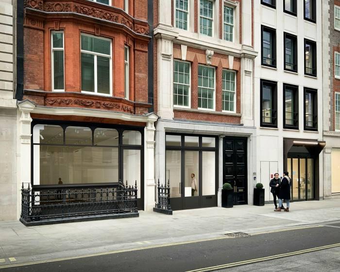 The No.9 Cork Street premises in Mayfair