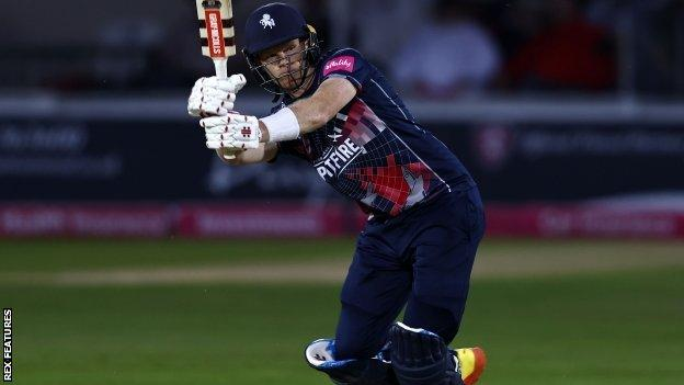 Kent captain Sam Billings hit his 22nd half-century in T20 cricket, although only half of them have been for the Spitfires