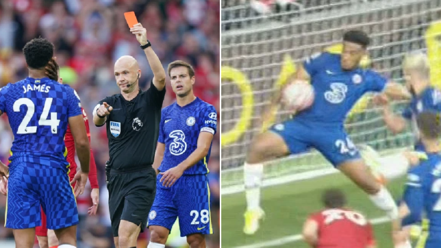 Thomas Tuchel and Cesar Azpilicueta speak out on Chelsea's 'harsh' red card vs Liverpool