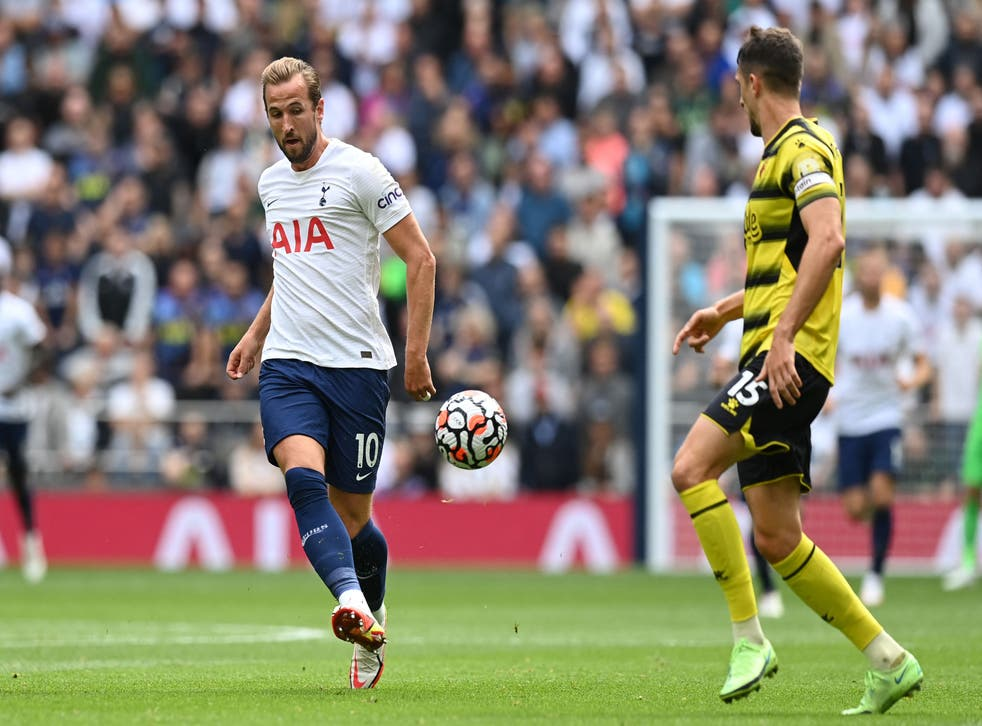 <p>Harry Kane in action for Spurs</p>