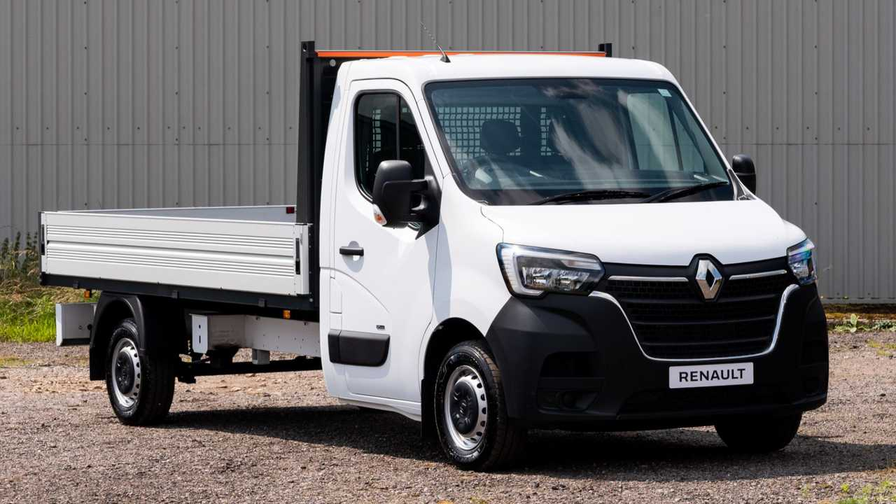 Renault Master E-Tech Chassis Cab conversions