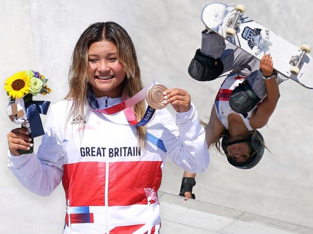 Sky Brown of Great Britain wins bronze at Tokyo Olympics