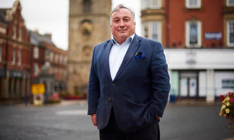 The mayor of Morpeth, David Bawn