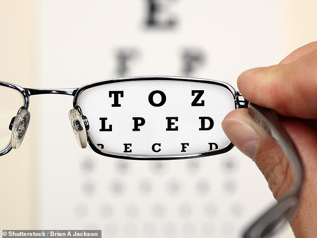 Scientists have developed glasses with ¿rings¿ in the lenses to halt or slow the progress of myopia, or short-sightedness, where distant objects appear blurred. A stock image is used above