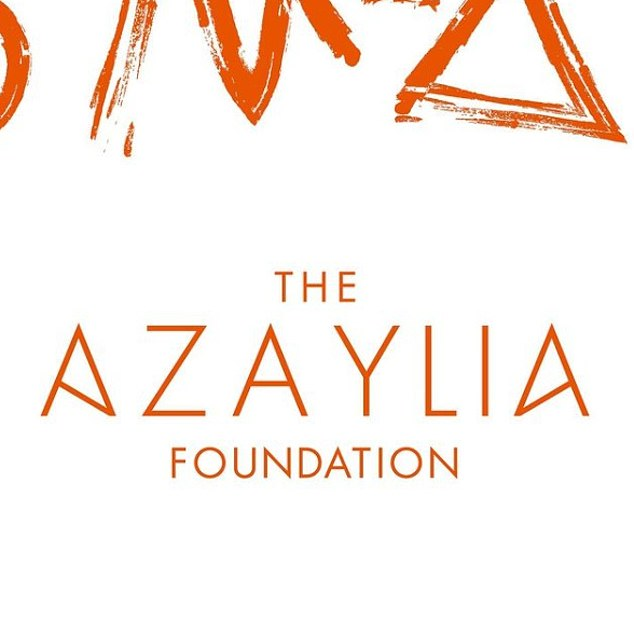 Launch: The couple launched The Azaylia Foundation to help other parents understand how to cope with it and how to deal with the symptoms that come with it