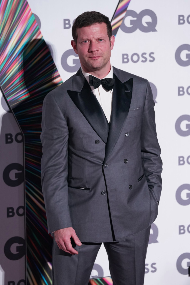 Dermot O'Leary arriving at the GQ Men of the Year Awards at the Tate Modern in London. Picture date: Wednesday September 1, 2021. PA Photo. See PA story SHOWBIZ GQ. Photo credit should read: Jonathan Brady/PA Wire