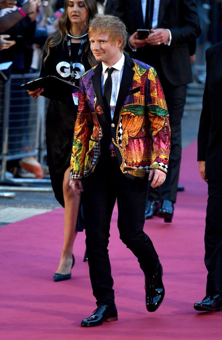 Mandatory Credit: Photo by Beretta/Sims/REX/Shutterstock (12398105ba) Ed Sheeran GQ Men of the Year Awards, Arrivals, Tate Modern, London, UK - 01 Sep 2021