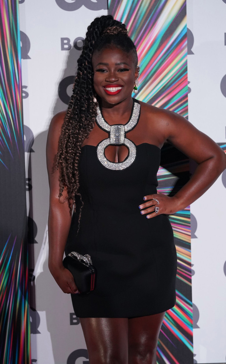 Clara Amfo arriving at the GQ Men of the Year Awards at the Tate Modern in London. Picture date: Wednesday September 1, 2021. PA Photo. See PA story SHOWBIZ GQ. Photo credit should read: Jonathan Brady/PA Wire