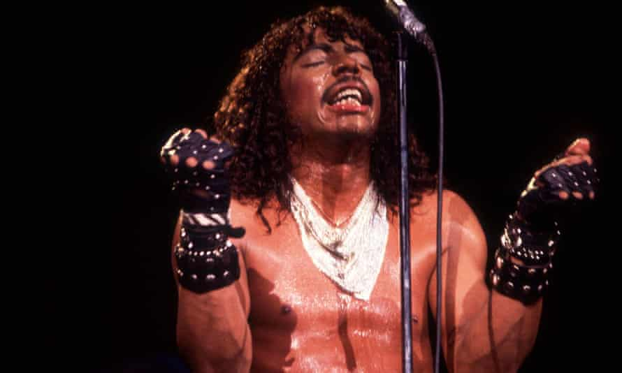 Rick James 9/9/83 in Merrilville, In. in Various Locations, (Photo by Paul Natkin/WireImage)