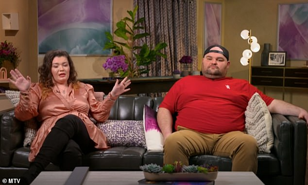 Big day: Amber was worried that her ex Gary Shirley and his wife Kristina were keeping her from seeing Leah for Easter; Amber and Gary seen on the Teen Mom OG reunion from April