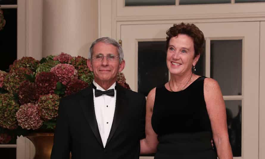 Fauci and his wife, Christine Grady