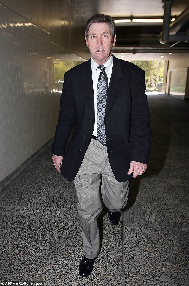 Ulterior motives: Britney Spears' father Jamie, 69, allegedly filed to end her conservatorship because he thinks the judge overseeing the case will opt to keep the arrangement in place, insiders told TMZ on Wednesday; seen in 2008 in LA