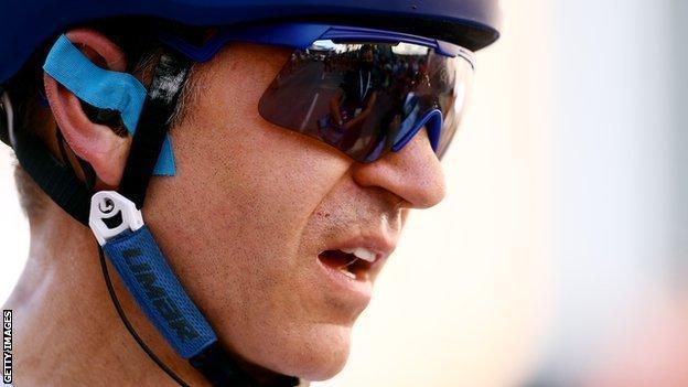 William Bjergfelt at the Tour of Britain