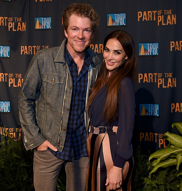 Longtime couple: Rooney and wife Tiffany Fallon, the Miss USA 2001 runner-up and Playboy's 2005 Playmate Of The Year, have been married for 15 years; they are pictured in Nashville in September 2017