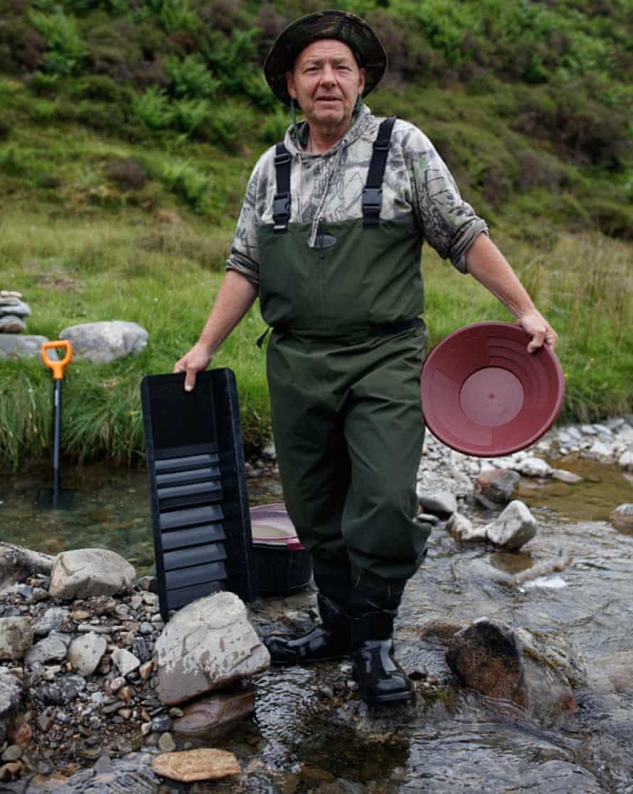 Danny Weir, gold panning in Scotland