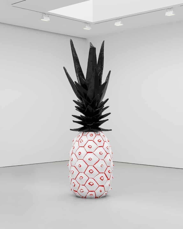 Rose Wylie, Pineapple, 2020.