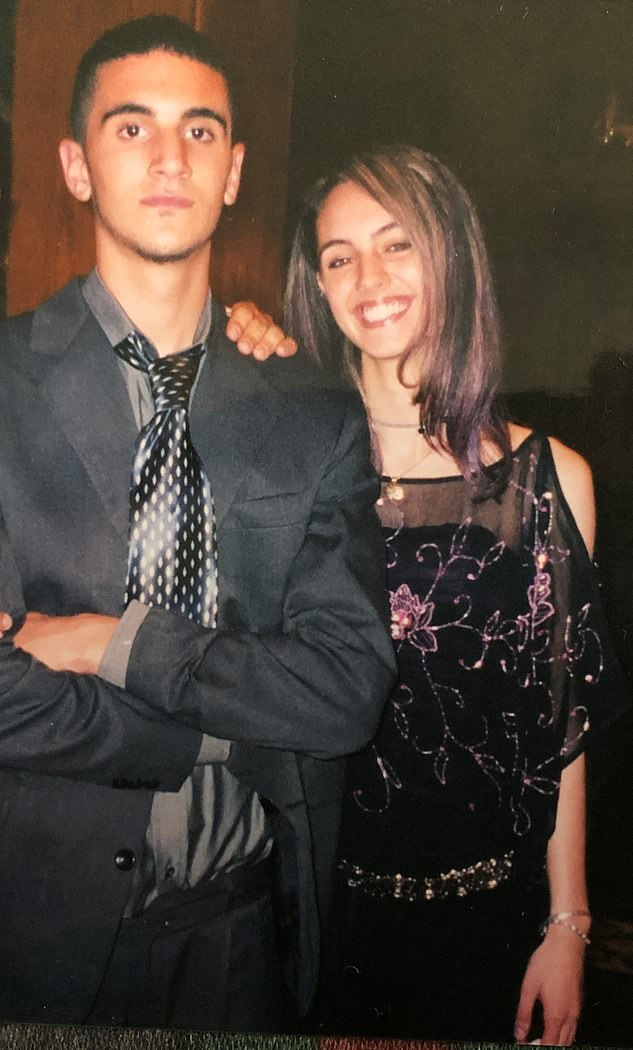 Mariam pictured with Omar on a night out in 2009. 'My family has tried everything to get the care Omar desperately needs to live as independently as possible. Ealing Council, in West London, made this impossible from the beginning,' says Mariam