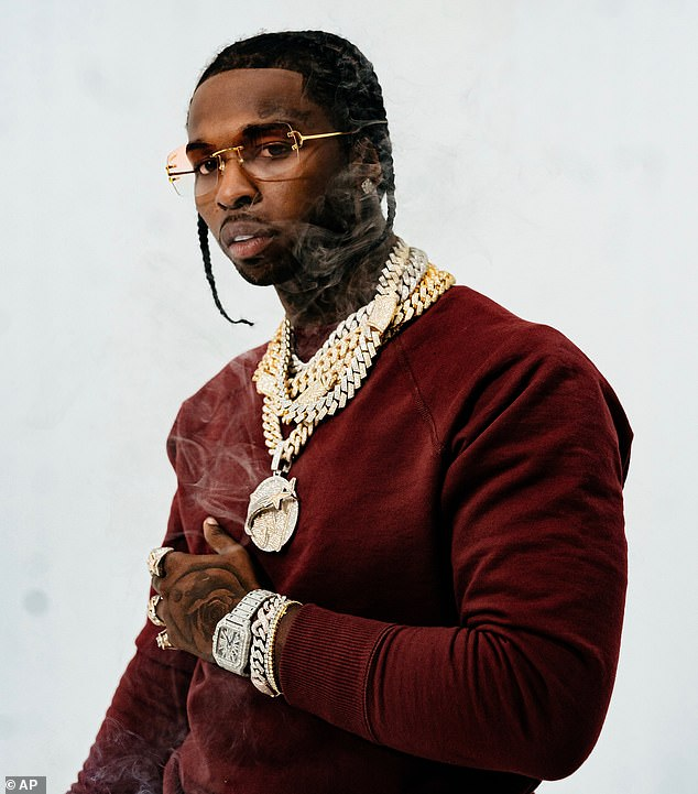 Tragedy: Pop Smoke was gunned down less than two weeks after releasing his second mixtape, Meet The Woo 2, which became his first top 10 release on the Billboard 200 album chart