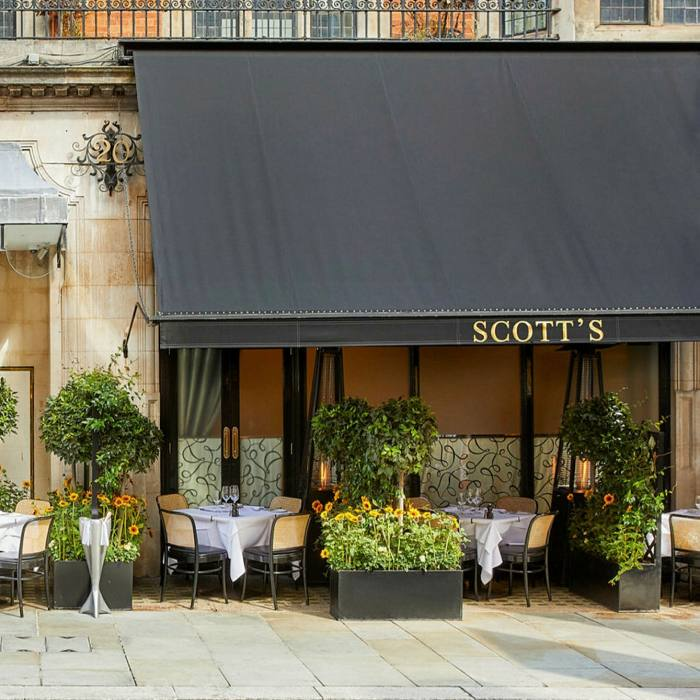 ...where the author rounded off her 24-hour Mayfair sojourn