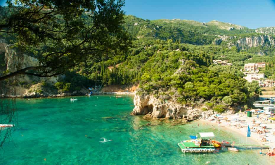 Paleokastritsa bay, Corfu