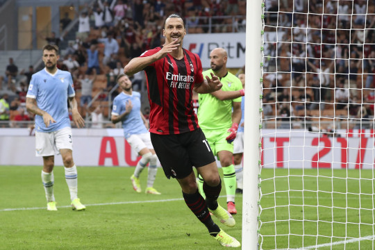 Zlatan Ibrahimovic scored against Lazio during his return from knee surgery at the weekend