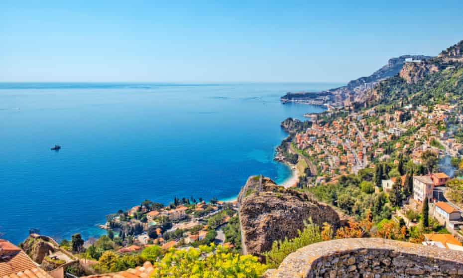 The view from Roquebrune-Cap-Martin.