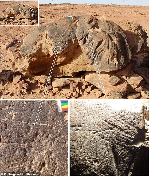 By the late 6th millennium BC most if not all of the reliefs had been carved, making the Camel Site reliefs the oldest surviving large-scale reliefs known in the world