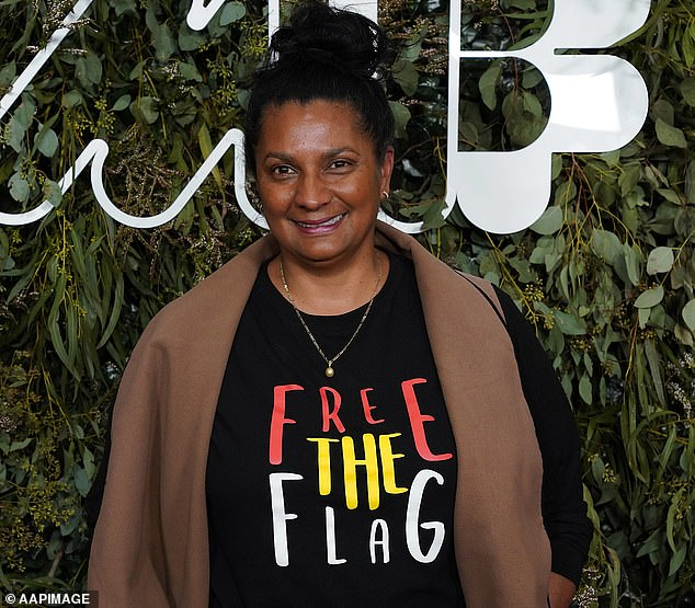 Sporting legend: Jessica is the daughter of Olympic legend Nova Peris. She was part of the Australian women's field hockey team at the 1996 Olympic Games, and the first Indigenous Australian to win an Olympic gold medal