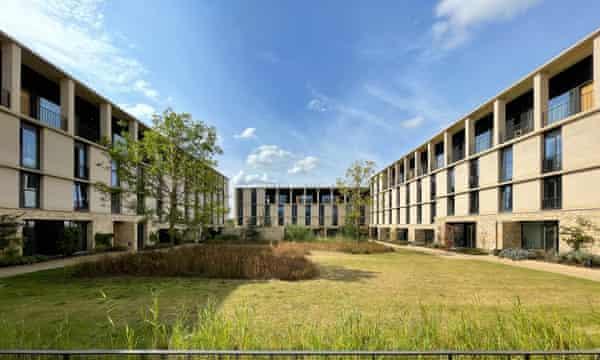 Key Worker Housing, Eddington, Cambridge by Stanton Williams.