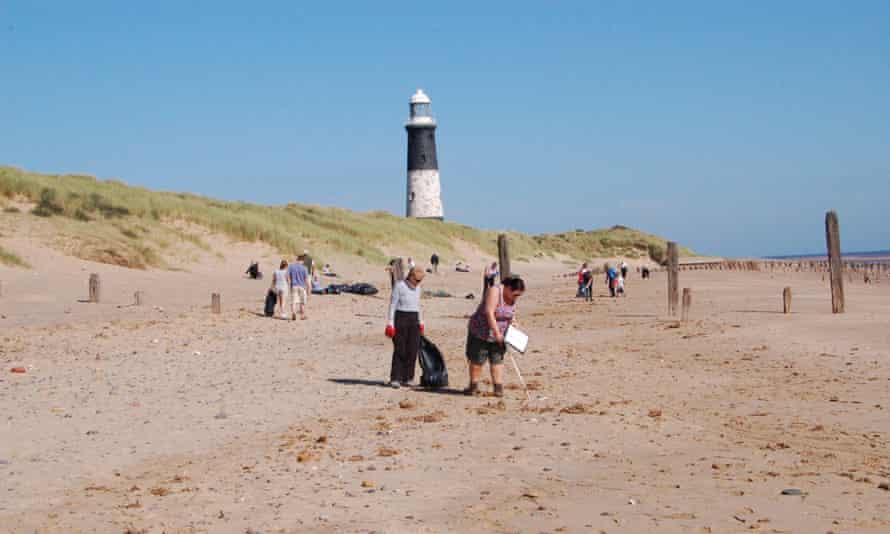 Beach clean, Spurn Nature Reserve