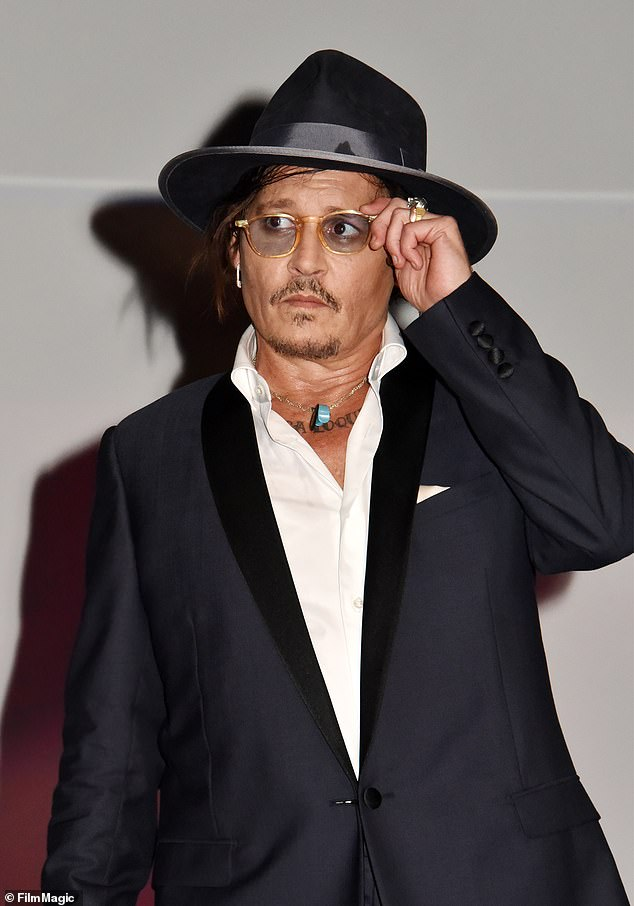 Daddy: Her father is Johnny Depp; seen at the City Of Lies screening during the 47th Deauville American Film Festival on September 5