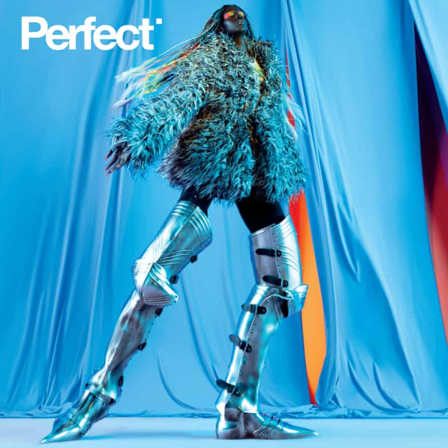 Annan-Lewin's Neon shoot on the cover of Perfect.