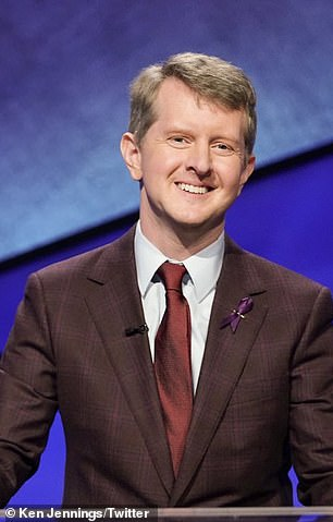 The Chase star Ken Jennings pictured on February 19