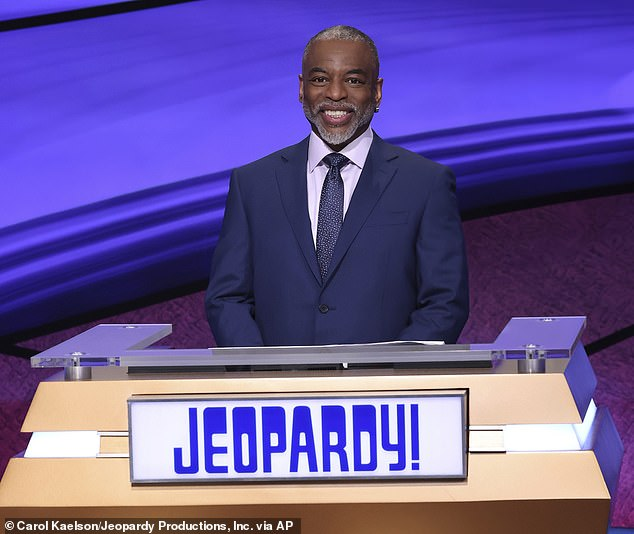 Denied: As for fan favorite LeVar Burton (pictured July 24), Sony Studios execs 'loved' him as a guest host, but 'didn't think he was the right fit for the daily syndicated quiz show'