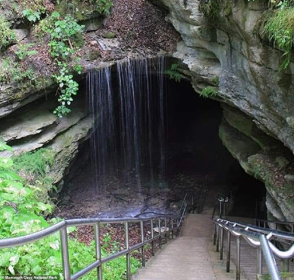 Mammoth Cave was created by the natural process of limestone erosion, known as karst topography. During this process rain and rivers slowly dissolve and shape soft limestone, creating a vast system of caves. And underground rivers are still carving new passages today