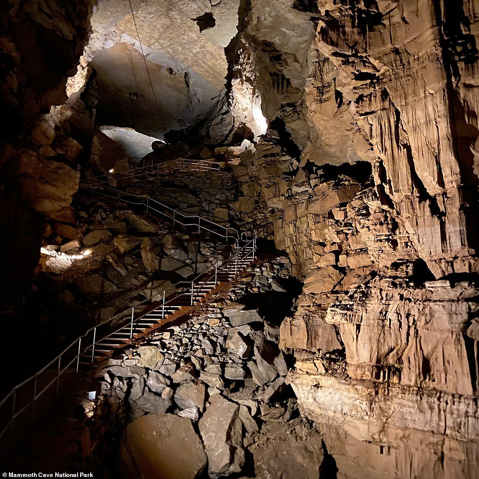 Members of the CRF spend hours crawling, climbing and rappelling through cave passageways, following leads through sometimes very tight openings to document and map Mammoth Cave, according to the Mammoth Cave National Park
