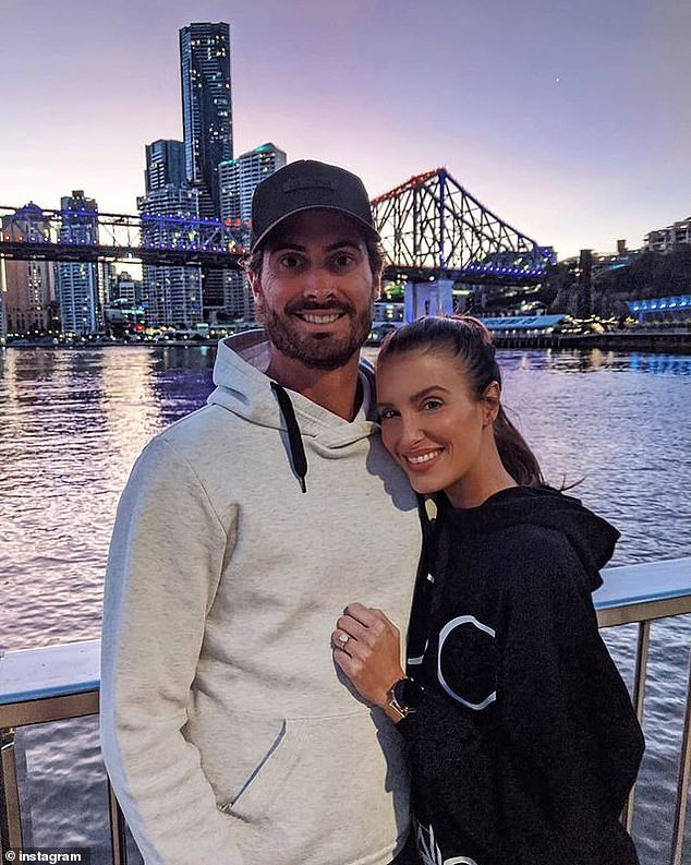 Family: Erin and her husband, professional cricketer Ben Cutting, reside in a house Hawthorne in Brisbane after leaving Sydney