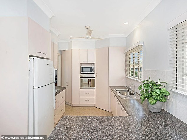 Features: It contains a number of living rooms, a laundry, separate toilet, extensive storage space and parking for up to four vehicles with automated gated entry