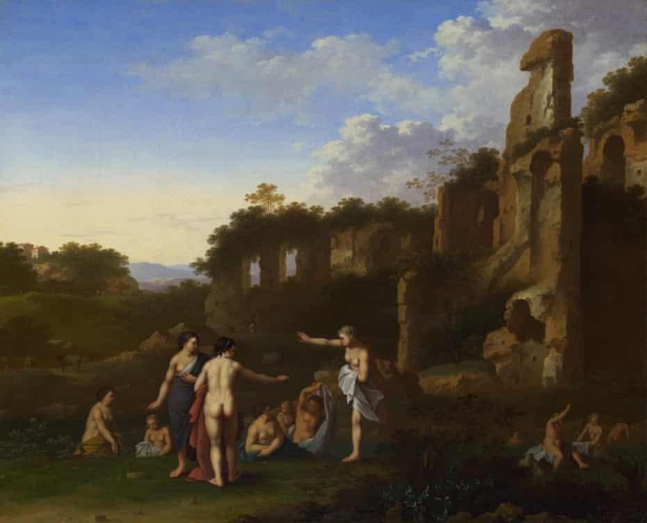 Women Bathing in a Landscape