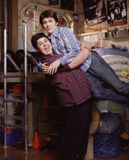 Drake and Josh stars Drake Bell and Josh Peck.