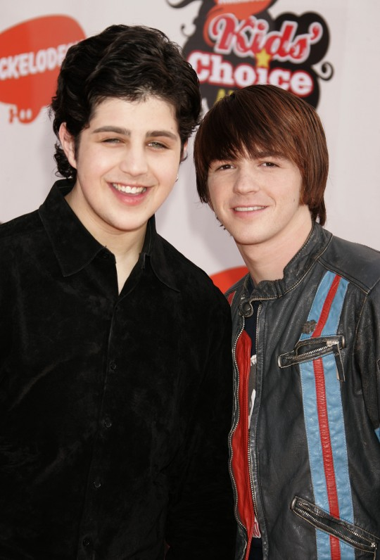 Nickelodeon's 18th Annual Kids Choice Awards - Drake Bell and Josh Peck